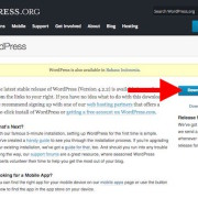 Halaman Download Wordpress