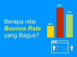 Berapa bounce rate yang bagus?